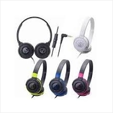 AUDIO-TECHNICA WIRED HEADSET (ATH-S100iS) MANY COLOR