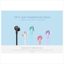 Original XiaoMi Mi In-ear Headphones Basic Wire Remote with Mic