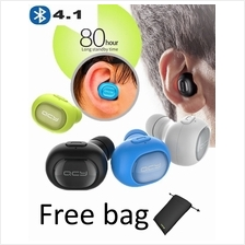 QCY Q26 Wireless Headphone Earphones HIFI Stereo Mini Bluetooth 4.1 Earbuds