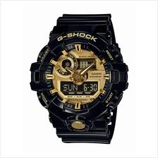 Casio G-Shock Garish Gold Black GA-710GB-1ADR