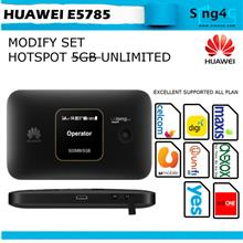Huawei E5785 4G 300Mbps Mifi 12hr @ umobile celcom maxis digi webe