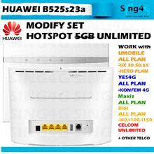 Huawei B525 4G 300Mbps CAT6 LTE SIM Router @ zte alcatel tplink