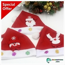 Children Christmas/Xmas/wedding/party/cosplay Santa Claus hat-kid size
