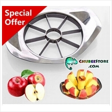 Stainless steel apple pear fruit corer slicer/cutter/sectioner/wedger
