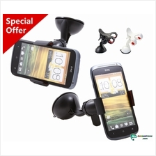 In car suction cup universal phone GPS stand holder mount-360 rotation