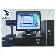 GST POS System - HP i3 +17'Touch Screen POS Economic PC Set