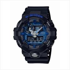 Casio G-Shock Garish Blue Black GA-710-1A2DR