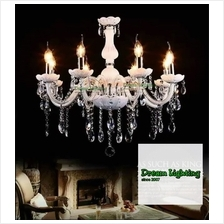 (8-arm) Full Crystal Chandeliers Lights Fixture Ceiling Light (Crystal Glass)