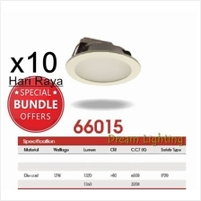(x10pcs) 12W 6Inch Led Panel Downlight Round LED Ceiling Recessed Light Dayli