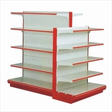 Gondola rack mini market supermarket rack boltless rack rak besi