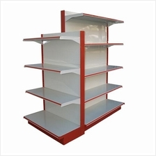 Gondola rack mini market supermarket rack boltless rack rak 3' shelve