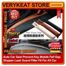 Car Seat Gap Stopper Leak Guard Filler Catch Key Mobile Fall Caddy