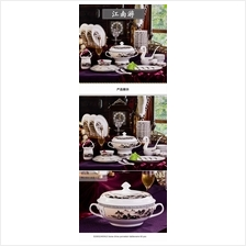 520852445415 bone china porcelain tableware 60 pcs