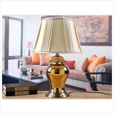 524539063227 creative ceramic gold plated lamp