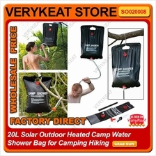 20L Portable Outdoor Shower Water Bag For Camping Travel Hiking Picnic