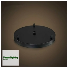 (Round base) for 3 pendant light fixture