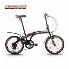 [Cronus.my] Garion G2019 20' Folding Bike Foldable with Shimano 6sp