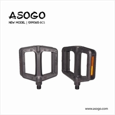 Asogo Bicycle Pedal (Plastic+Steel) for 1/2' 1399365-BCS