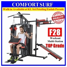 Top Grade 210KG Gym Fitness Multi Station Strength Trainer Exerciser