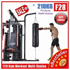 Top F28 Gym Fitness Station Situp Boxing Punching Bag Strength Trainer