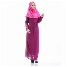 FASHION JUBAH PURPLE