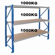 Heavy duty longspan boltless rack UDL 1000kg per level