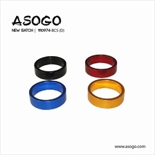 1pc Bicycle Bike Alloy Headset Spacer H.10mm x 28.6mm 1110974-BCS (D)