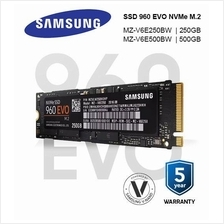 Samsung SSD 960 EVO NVMe M.2 Solid State Drives ( 250GB / 500GB )