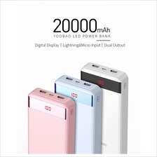 Yoobao New Edition 20000mAh Original YB-S20 LCD Power Bank