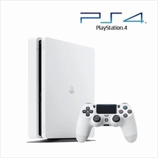 NEW PS4 Sony PlayStation 4 Slim 500GB White Console (1 Year Warranty)