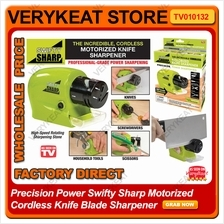 Precision Power Swifty Sharp Motorized Cordless Knife Blade Sharpener