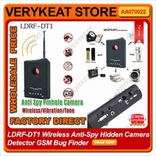 LDRF-DT1 Wireless Anti-Spy Hidden Camera Detector GSM Bug Finder