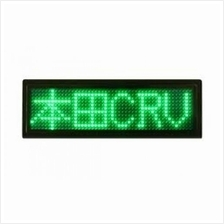 LED Name Tag Display (Green)