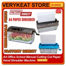 A4 Office School Manual Cutting Cut Paper Hand Shredder Machine