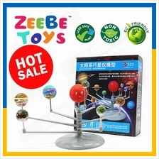 ZEEBE Solar System Planetarium DIY Kid Glow in the Dark Toys