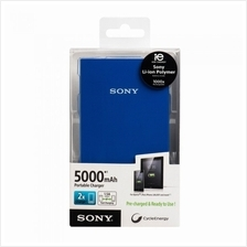 SONY POWER BANK CP-V5A FAST PORTABLE CHARGER (BLUE)[Sony Malaysia Warr