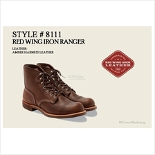 Red Wing Iron Ranger Boot Shoes Made In USA 8111