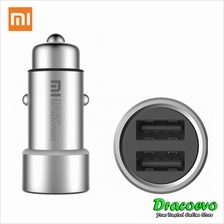 Authentic Xiaomi Car Charger Dual USB Fast Charging Adapter Compatible Android