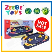 ZEEBE 2 in 1 Kids Fast Action Puck Hockey Soccer Shoot Play Action Toy