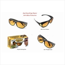 HD Vision Glasses Anti Glare Wrap Around Sunglasses ~ Ready Stock