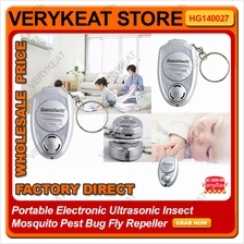 Portable Electronic Ultrasonic Insect Mosquito Pest Bug Fly Repeller