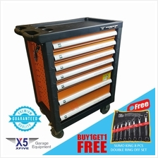 X5 Professional Lockable Drawer Tool Cabinet (without Tools) 770mm wid