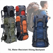 70L Water Resistant Exectrone Ergonomic Travelling Hiking Backpack