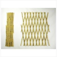 DIY HEIGHT 130CM NATURE STRETCH BAMBOO FENCE FENCING NETTING GARDEN
