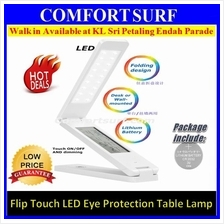 Multifunction LED Table Lamp Alarm Clock Calendar Flip Eye Protection