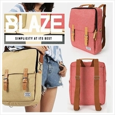 Korean Blaze Korea Outing Laptop Backpack Casual Bag Beg Men Women