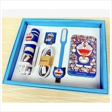 Doraemon Hello Kitty PowerBank/ Power Bank 8800mAh / 5 pcs Gift Set