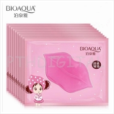 Women Crystal Collagen Lip Mask Pads Moisture Essence Anti Ageing
