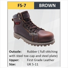 Hercules Safety Shoes First Grade Cow Leather Men Boot SKU-FS7