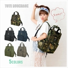 (SALE) Anello 2 Way Tote Bag Rucksack Backpack